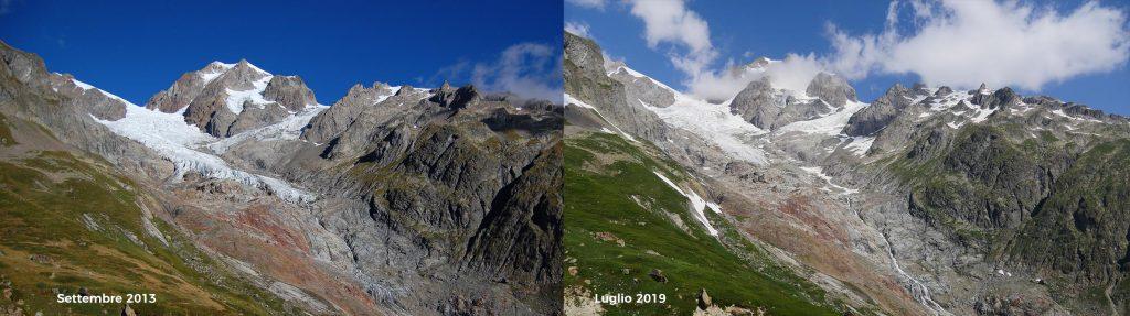 Ghiacciao d'Estellettes, Monte Bianco